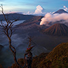 Tourist Battle at the Tengger Caldera