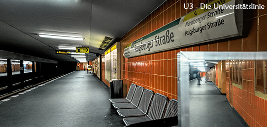 Fotoreport - Berlins U3