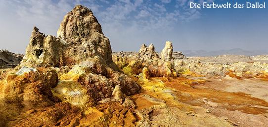 Reisebericht - Äthiopien - Der Säurevulkan Dallol