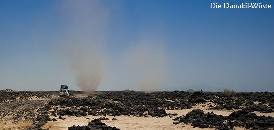 Reisebericht - Äthiopien - Unterwegs in der Wüste Danakil