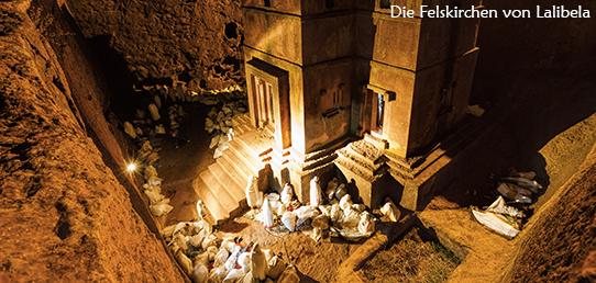 Reisebericht - Äthiopien - Die Felsenkirchen von Lalibela