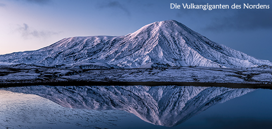 Reisebericht Kamtschatka - Die Vulkangiganten des Nordens