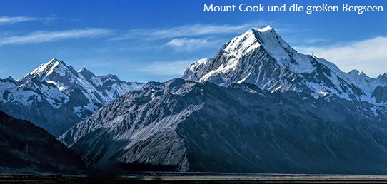 Reisebericht Neuseeland - Die südlichen Alpen