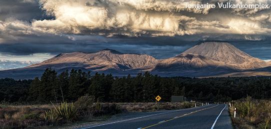 Reisebericht Neuseeland - Tongariro Vulkan