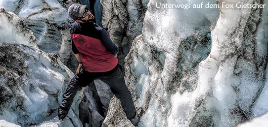 Reisebericht Neuseeland - Fox Gletscher Tour