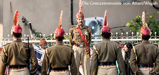 Reisebericht - Nordindien - Grenzzeremonie von Attari/Wagah