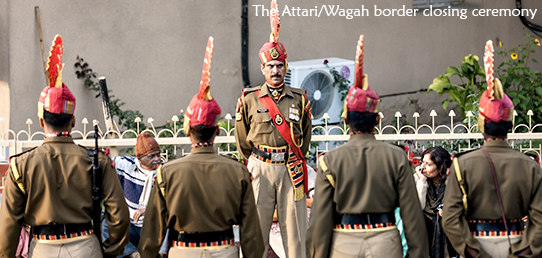 Travel Report - North India - Attari/Wagah border closing ceremony