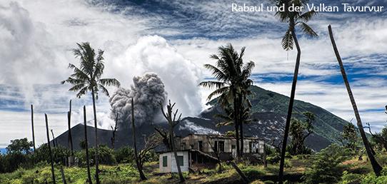 Reisebericht - Papua-Neuguinea - Rabaul und der Vulkan Tavurvur