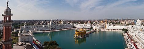 Indien, Amritsar, Goldener Tempel