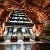 The Tunnelbana Netherworlds of the Stockholm Metro