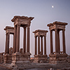 The ancient Roman Ruins of Palmyra